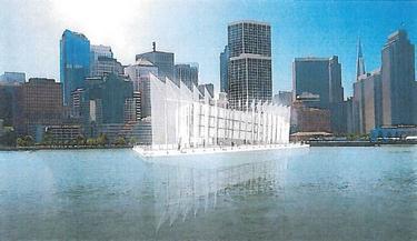 Boceto del barco futurista de Google | San Francisco Gate