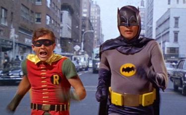 Alan West y Burt Young fueron Batman y Robin en los 60
