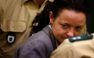 Beate Zschäpe durante el juicio | Cordon Press
