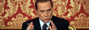 Silvio Berlusconi, este jueves   Efe