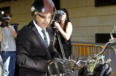 El juez Bermúdez, en una de sus llegadas a la AN | EFE