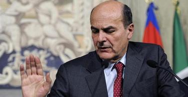 Bersani en una rueda de prensa este jueves | EFE