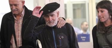 Momento en el que Bolinaga salió de prisión | Archivo/EFE