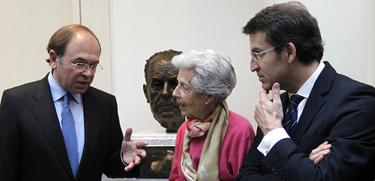 Homenaje a Fraga en el Senado   PP