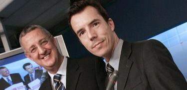 Carlos Mulas y Jesús Caldera, en una foto de archivo | EFE