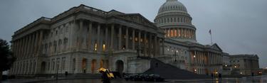 Imagen del Capitolio, el pasado viernes por la tarde. | Cordon Press