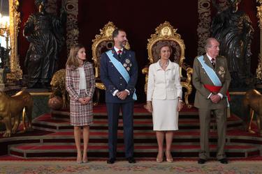 Una imagen del día de la Hispanidad | Casa Real