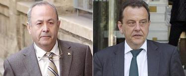 El juez José Castro y el fiscal Pedro Horrach.