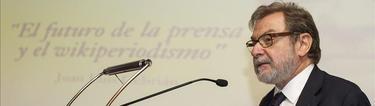 Juan Luis Cebrián en una fotografía de archivo | EFE