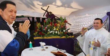 Chávez, en un momento de la ceremonia | EFE