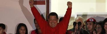 Chávez celebra su triunfo   EFE