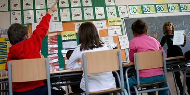 Imagen de una clase en un colegio de Barcelona. | Cordon Press