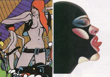 El erotismo en el cómic, en el libro de Luis Gasca