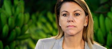 María Dolores de Cospedal, este sábado | Tarek/PP