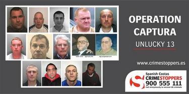 Los trece criminales más buscados. | Crimestoppers