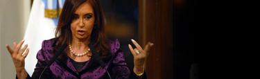 Cristina Fernández de Kirchner, presidenta de Argentina | Archivo.