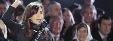 Cristina Fernández de Kirchner durante las celebraciones de la Revolución de Mayo | EFE