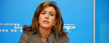 Cristina Ruiz, portavoz del PP en el Ayuntamiento de Bilbao.