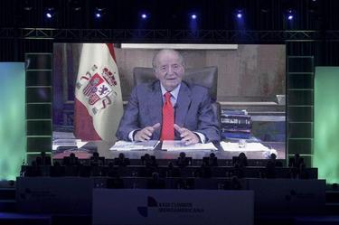 El Rey se dirige a los asistentes a la cumbre de Panamá | EFE