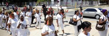 Varias Damas de Blanco han sido arrestadas. | EFE