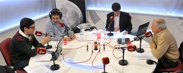 Luis F. Quintero (i), Luis del Pino, Javier Somalo y Carlos Sánchez de Roda   LD/David Alonso