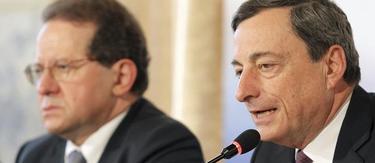 Mario Draghi, este jueves | Efe