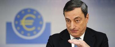 Mario Draghi, este jueves. | Efe