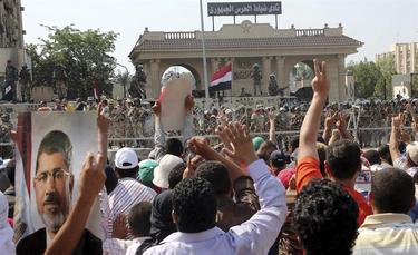 Una manifestación de partidarios de Morsi el pasado día 5   Archivo