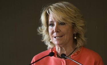 Esperanza Aguirre, este jueves en Barcelona | EFE