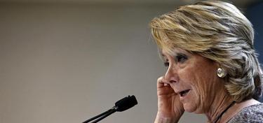 La presidenta del PP de Madrid, Esperanza Aguirre | Archivo