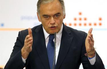 Esteban González Pons, este domingo | EFE