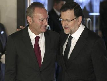 Fabra y Rajoy en el desayuno informativo | EFE