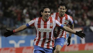Falcao ha hecho historia con cinco goles contra el Deportivo. | EFE