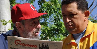 Los dos dictadores, en una imagen de archivo