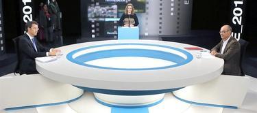 Debate en TVG entre Feijóo y Jorquera | EFE
