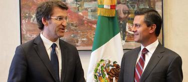 Feijóo, junto a Peña Nieto   Xunta de Galicia