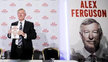 Alex Ferguson, durante la presentación de su autobiografía en Londres. | EFE