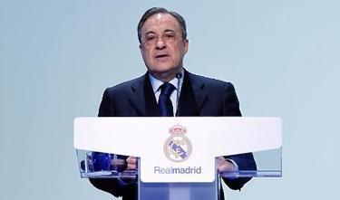 Florentino Pérez, presidente del Real Madrid. | Archivo
