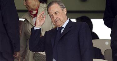 Florentino Pérez, presidente del Real Madrid.   Archivo
