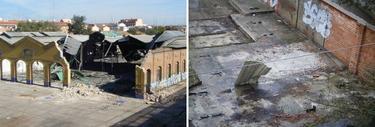 Así ha quedado el almacén donde se guardaba el último foco de explosión del 11-M encontrado por LD | CSR