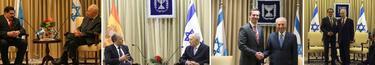 Visitas oficiales a Israel, del salvadoreño Cruz Zepeda, el extremeño José Antonio Monago, el líder de Ontario Dalton McGuinty y Artur Mas | Archivo