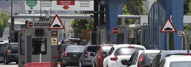 Colas en Gibraltar | EFE