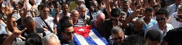 El funeral de Oswaldo Payá