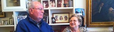 Gabriel Moris y su esposa, padres de Juan Pablo, asesinado en los atentados del 11-M.