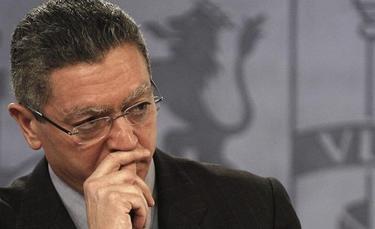 Alberto Ruiz Gallardón | Archivo