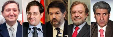 Los príncipales líderes mediáticos en contra de la mordaza | EFE
