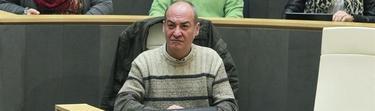 Martín Garitano durante el debate de los Presupuestos | EFE