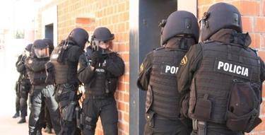 Los Geo de la Policía, durante una intervención | Archivo