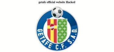La web oficial del Getafe, hackeada por piratas informáticos. | Foto: getafecf.com