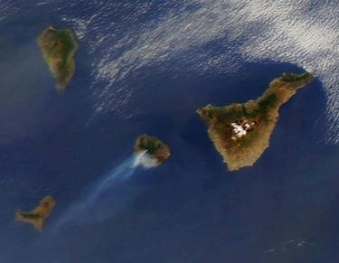 El incendio, visible desde el espacio | NASA